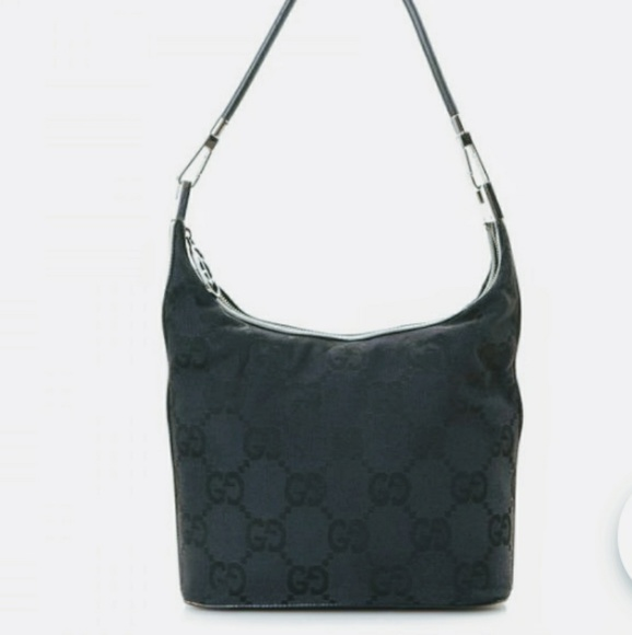 82fc3d3fc Gucci Bags | Free Shipauthentic Canvas Hobo Bag | Poshmark